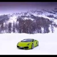Lamborghini LP560-4 On Ice Video