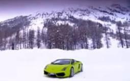 Lamborghini LP560-4 On Ice Video