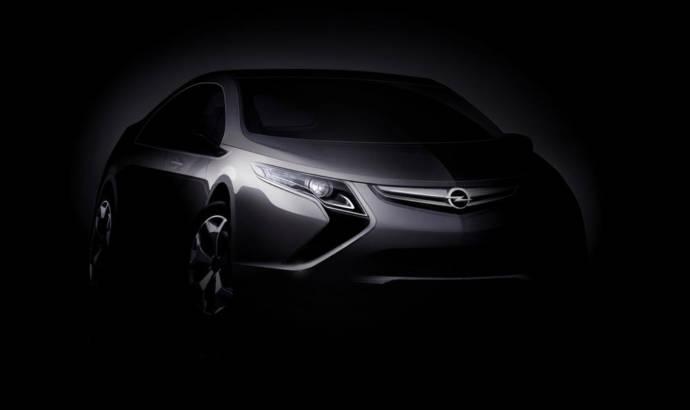 Opel Ampera teaser