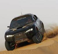 Mitsubishi steps out of Dakar