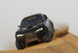 Mitsubishi steps out of Dakar