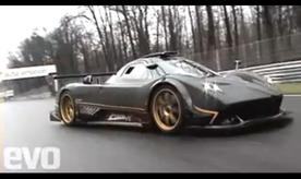 Pagani Zonda R in action