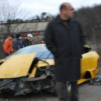Another Russian Murcielago goes to car heaven