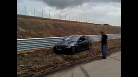 BMW M3 with noob driver video