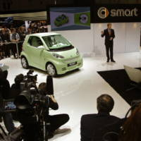 Electric smart fortwo BRABUS