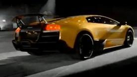 Lamborghini Murcielago SuperVeloce Drifting video