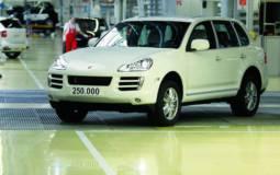 Porsche sold 250.000 Cayennes