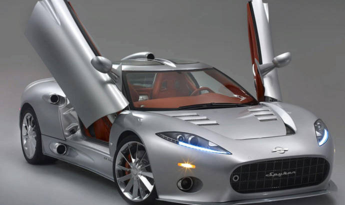 Spyker C8 Aileron ready to fly