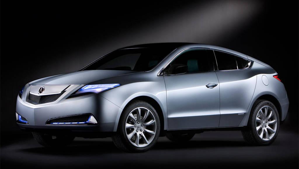 2010 Acura ZDX unveiled