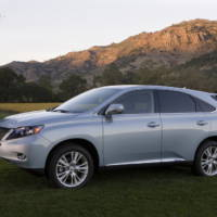 2010 Lexus RX 450h and IS Convertible price