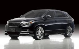 2010 Lexus RX350 Black Bison Edition