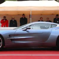 Aston Martin One 77 top design award