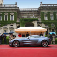 Aston Martin One 77 top design award