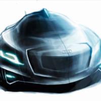 Audi hybrid supercar concepts