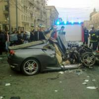Ferrari crash season started