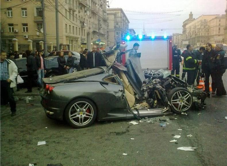 Ferrari crash season started