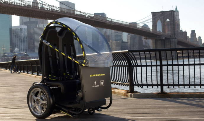 GM and Segway develop Project P.U.M.A.