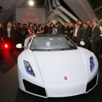 GTA Spano official launch