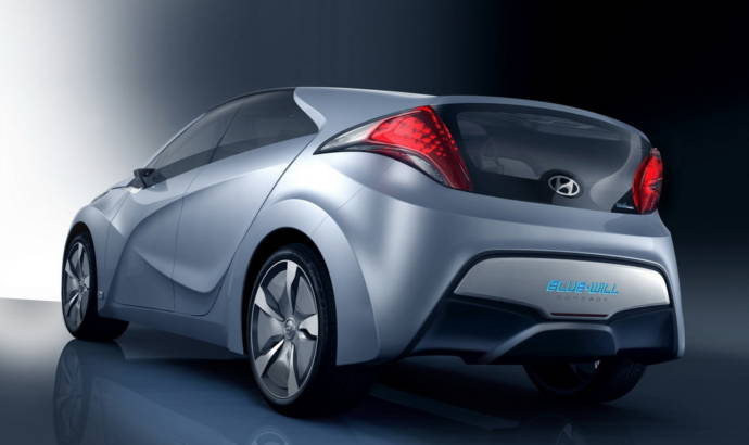Hyundai Blue Will unveiled at Seoul