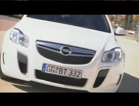 Opel Insignia OPC official video