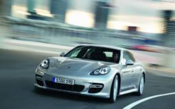 Porsche Panamera debut