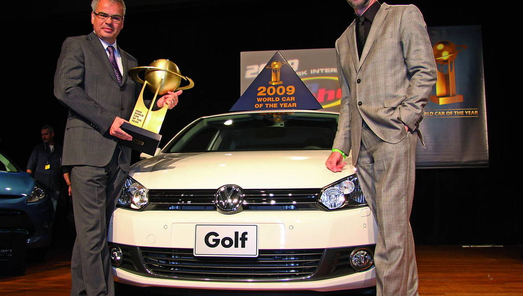 Volkswagen Golf VI awarded 2009 World Car of the Year