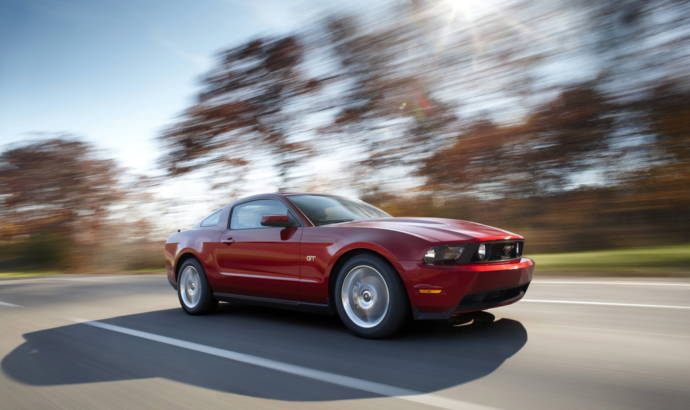 2010 Ford Mustang gets 5-Star Safety score