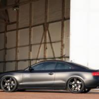 Audi A5 matte black by AVUS Performance