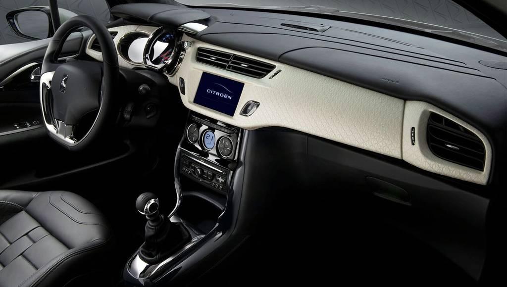 Citroen DS INSIDE interior