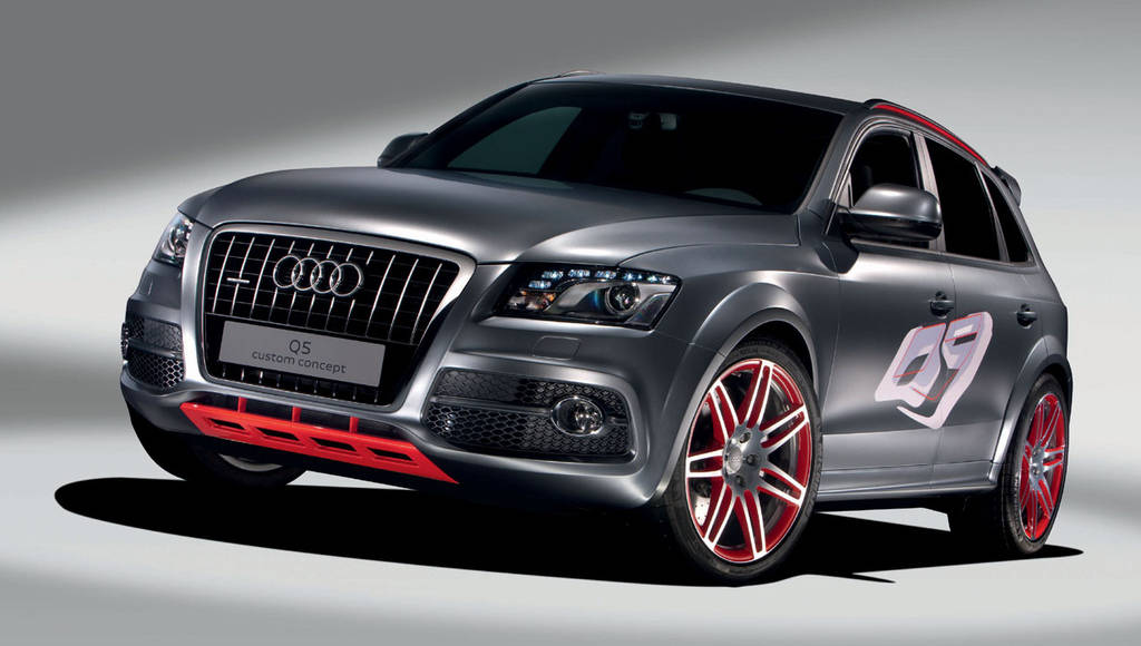 Customized Audi Q5 Concept at Worthersee