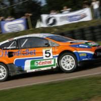Ford Fiesta Rallycross Car
