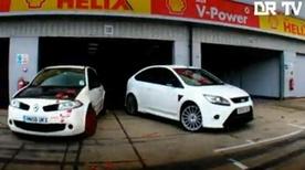 Ford Focus RS vs Renault Megane R26.R