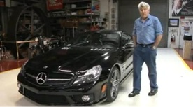 Jay Leno reviews the 2009 Mercedes SL63 AMG