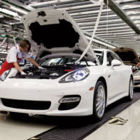 Porsche Panamera production started