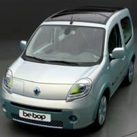 Renault Kangoo be bop ZE prototype