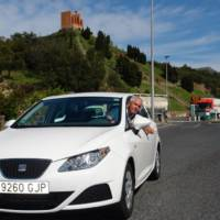 Seat Ibiza ECOMOTIVE sets world record on fuel economy