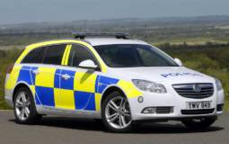 Vauxhall Insignia Police car