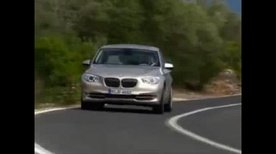 BMW 5 Series GT in action