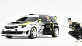 Custom Subaru Impreza WRX STI Gymkhana 2 video