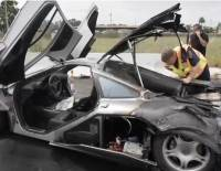 $2.5 Million McLaren F1 on fire