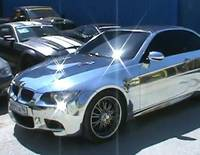 BMW E93 M3 Convertible fully chromed