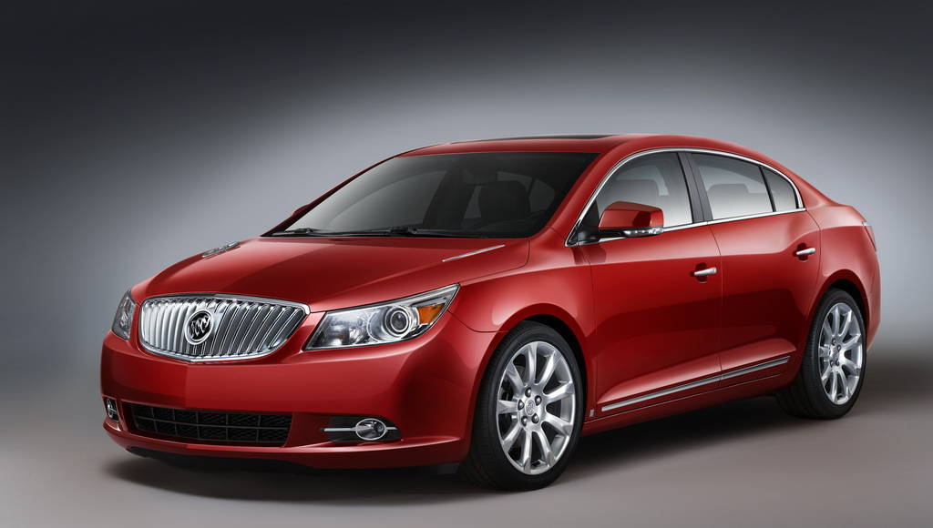 Buick LaCrosse gets new Ecotec 2.4L engine
