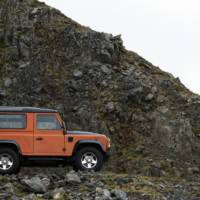 Land Rover Defender Fire and Ice