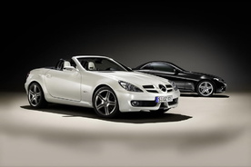 Mercedes SLK 2LOOK Edition price for UK