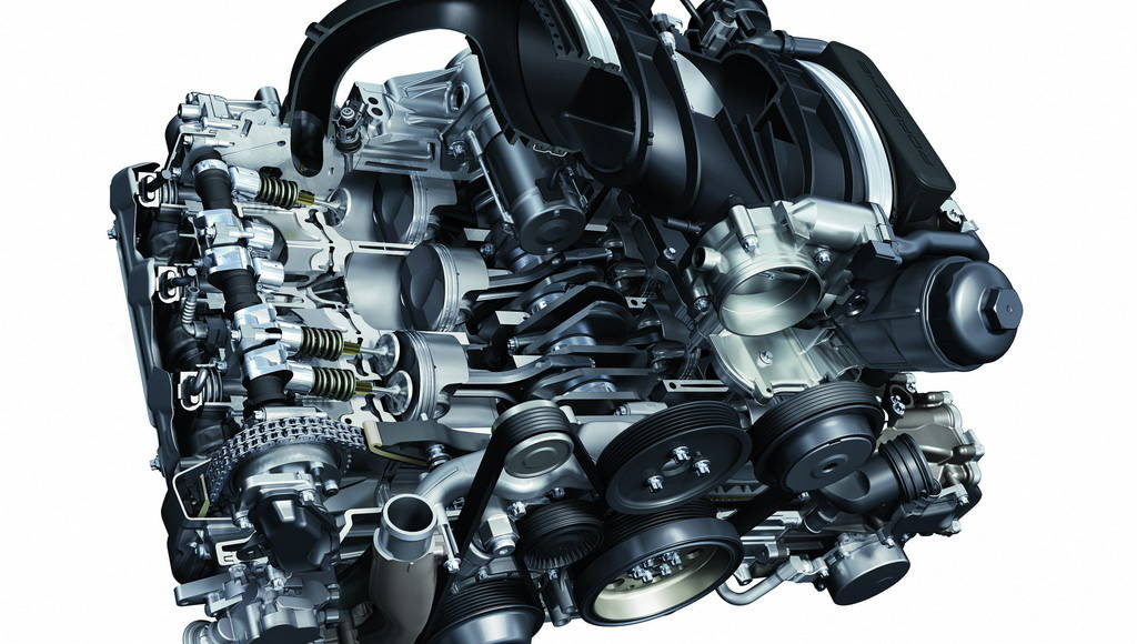 Porsche Carrera S 3.8 litre engine wins Best New Engine 2009