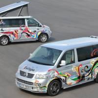 Volkswagen California and Caravelle campervans
