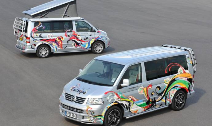 Volkswagen California and Caravelle campervans