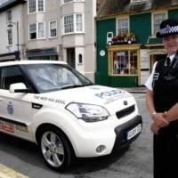 2009 Kia Soul police car