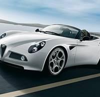 Alfa Romeo 8C Spider review video
