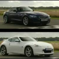 BMW Z4 vs Nissan 370Z on Top Gear